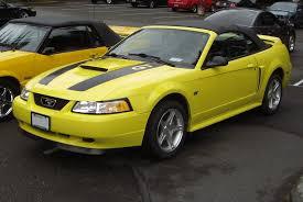 02 Black Mustang Gt 2000 Mustang Gt