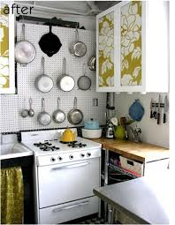 removable wallpaper for kitchen cabinets temporary solutions for renters design series 10 ingenious kitchen