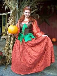 Pumpkin Princess Halloween Costume Pumpkin Princess Size