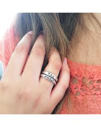 stackable mothers rings with names get this amazing shopping deal on custom organic stacking rings