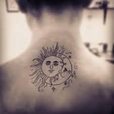 eneckant sun moon design idea