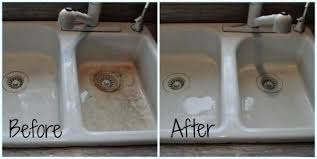 how to clean a kitchen sink fascinating clean white kitchen sink how to clean kitchen sink how