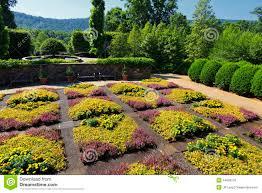 Asheville Nc Botanical Garden by Quilt Garden At The North Carolina Arboretum Stock Photo Image