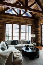 modern cabin interior lake joseph muskoka timothy johnson design pinteres