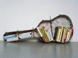 bookshelf on wall home decor