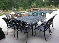 Chateau Patio Furniture Mallin Passage Padded Dining Chairs And 44