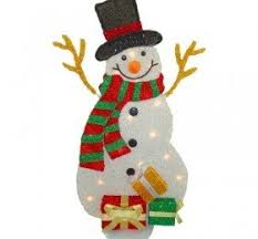 Plastic Outdoor Snowman Christmas Decorations by Outdoor Snowman Decorations U2039 Decor Love