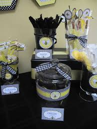 31 bee themed baby shower decorations