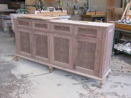 Solid Oak Buffet by Unfinished Wood Buffets Kashiori Com Wooden Sofa Chair Bookshelves