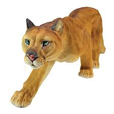 mountain lion statue design toscano prowling american mountain