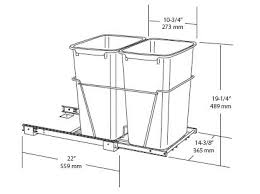 kitchen cabinet trash pull out image result for width of trash pull out cabinet kim craig
