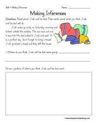 inference worksheets grade 3 worksheets