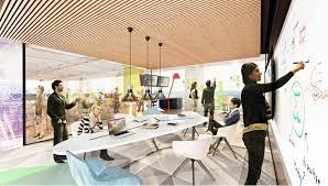 Interior Renderings Renderings Gensler Will Design New Comcast Tower U0027s Interior