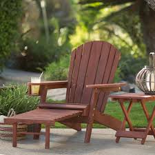 Big Chairs With Ottoman by Coral Coast Big Daddy Adirondack Chair With Pull Out Ottoman And