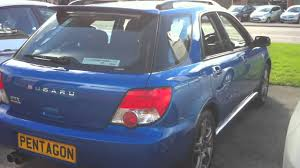 subaru station wagon wrx subaru impreza 2 0 wrx 4wd estate blue youtube
