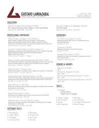 resume deans list resume u2014 gustavo larrazabal