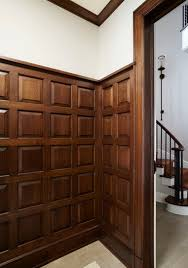 Wainscot America Stained Wood Wainscoting Www Decorchick Com Diy Home Decor