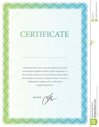 template certificate currency and diplomas royalty free stock