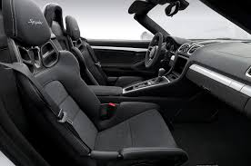 Porsche Boxster Black Edition - 2016 porsche boxster spyder debuts in new york with 375 hp