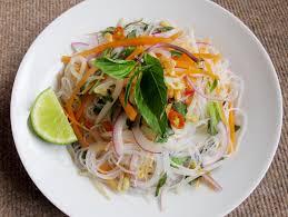 thai shirataki noodle salad