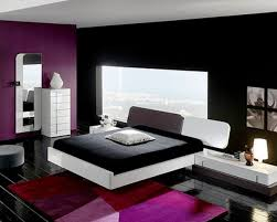 top purple and black bedroom on contemporary bedroom design ideas