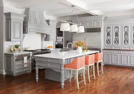 midwest kitchen that u0027s gorgeous in gray traditional home