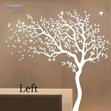 White Tree Wall Decal Nursery Tree Wall Decals Together With White Tree Wall Decal