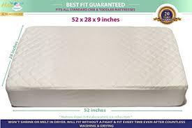 Crib Mattress Waterproof Cover Bamboo Crib Mattress Pad Waterproof Cover Toddler Bed Protector