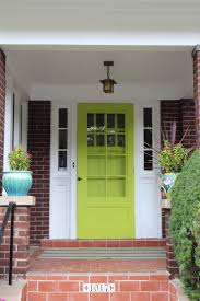 fabulously painted front doors dig this design