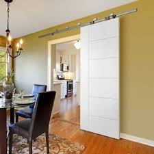 interior barn doors for homes masonite 30 in x 84 in berkley primed solid interior barn