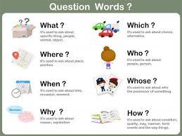 249 best question words plans images on pinterest wh questions