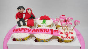 anniversary cupcakes ideas easy youtube