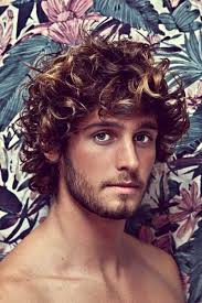 hairstyles for curly and messy hair 67 great hairstyles for curly wavy haired men hairstylo