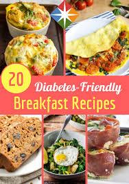 diabetic breakfast menus 20 diabetes friendly breakfast recipes diabetes recipes and