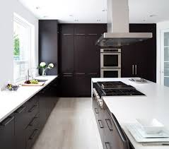 espresso kitchen cabinets with white countertops 22 beautiful kitchen colors with cabinets home design