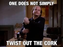 Frasier Meme - season 1 episode 18 5 33 minutes in one does not simply frasier