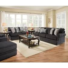 Simmons Upholstery Furniture Simmons Upholstery Bellamy Slate Sofa Free Shipping Today