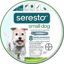 seresto 8 month flea tick collar for small dogs puppies up to
