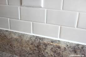 modest brilliant installing subway tile backsplash how to install