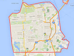 San Francisco On Map Mapping The 10 Cheapest Properties For Sale In San Francisco