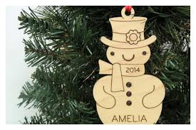 adorable personalized wooden ornaments cool picks