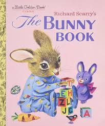 richard scarry u0027s the bunny book little golden book patsy scarry