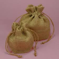burlap favor bags burlap favor bags set of 10
