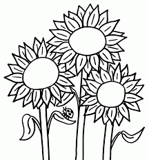 flower colouring pages for children flowers to colour in and print