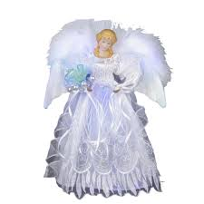 Outdoor Lighted Christmas Angels by 6 U0027 Multi Color Lighted Outdoor Spiral Christmas Tree Yard Art