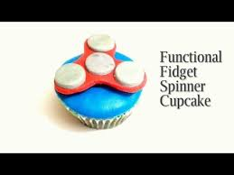 how to make fidget spinner cupcake edible and functional fidget
