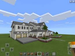 big modern mansion map minecraft pe hq