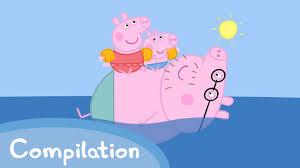 peppa pig episodes water fun compilation cartoons children