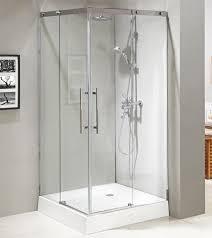 Frame Shower Door Stainless Steel 304 Frame Sliding Tempered Glass Design Shower