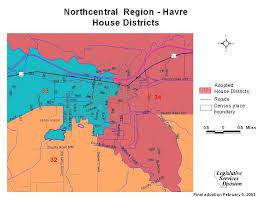 House District Map Montana Legislature Districting And Apportionment Interim